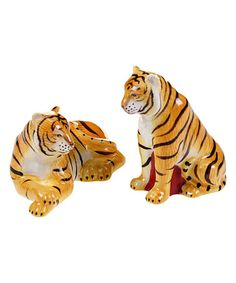 Another great find on #zulily! Imperial Bengal Earthenware Salt & Pepper Shakers #zulilyfinds