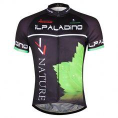 ILPALADINO NATURE Leaves Men s Stylish Cycling Apparel Bike Biking Jersey  Bike Shirt Spring Autumn Summer Outdoor Sports Gear Leisure Bicycling T- shirt ... 36f3f1e8f