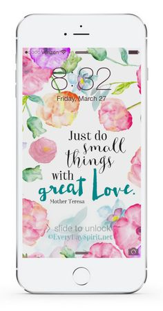 Every Day Spirit Lock Screens is an app of more than 700 beautiful, handmade wallpapers that inspire you every time you look at your phone. Easy. Awesome sayings. Bright colors. For iPhone and Android. www.everydayspirit.net xo