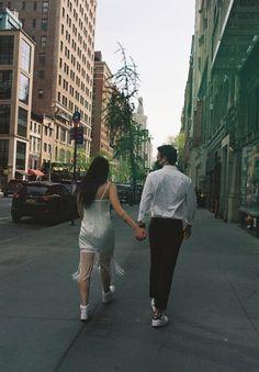 #newyorkcitycouple #newyorkelopement #urbanelopement #elopenewyork #elopenewyorkcity #newyorkcityelopement #cityelopement #citycouple #shortweddingdress #nontraditionalweddingdress #weddingdaytennisshoes #filmcamera #filmphotos