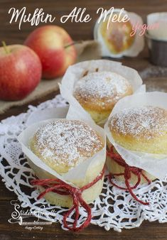 Muffins, Happy Cook, Cake & Co, Italian Desserts, Almond Cakes, Sweet Recipes, Delicious Desserts, Food And Drink, Cooking Recipes