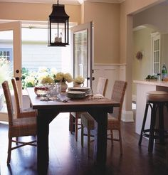 Beautiful Cottage Inspired Dining Room Cottage Dining Rooms, Kitchen  Dinning Room, Dining Room Design