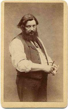 Gustave Courbet  (1819-1877) fue el iniciador de la tendencia realista  en la pintura f...