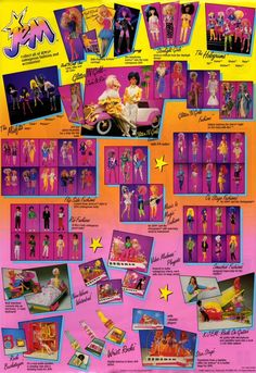 I had the glitter and gold Jem
