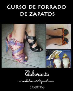 Cynthia Gordillo: Curso de forrado de zapatos en Elaborarte