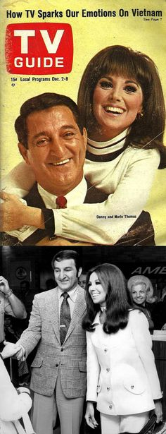 TV Guide: December 1967 - Danny Thomas and daughter, Marlo Thomas Marlo Thomas, Danny Thomas, Old Tv Shows, Movies And Tv Shows, That Girl Tv Show, Radios, Comedy, Vintage Television, Becoming An Actress