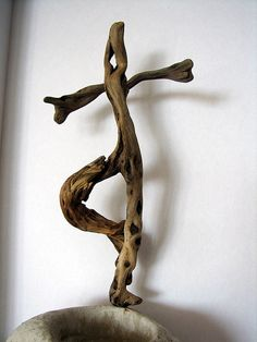 Dancing driftwood.