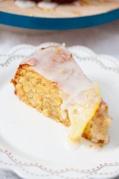 Flourless Lemon Cake. Naturally gluten free, tender and full of zesty flavour.