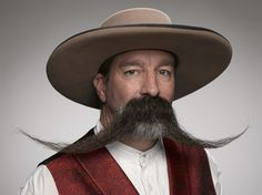 With Movember looming, it& time to get hairy. Photographer Greg Anderson captures the best of the best at the 2014 World Beard and Moustache Competition in Portland, Oregon. Beards And Mustaches, Moustaches, Mustache Styles, Beard No Mustache, Handlebar Mustache, Great Beards, Awesome Beards, Beard Styles, Hair Styles