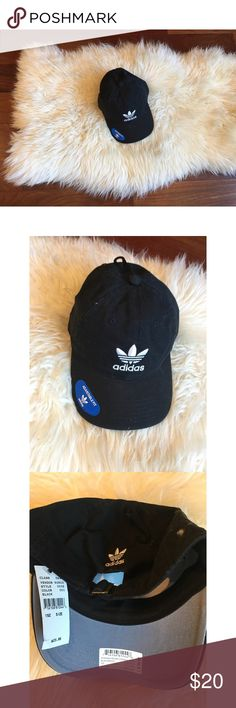 NEW! Adidas Trefoil Dad Hat 💓 this is a brand new never been worn hat from the brand adidas. The tags are still attached and can be purchased for full price online or in stores. I'm not accepting offers on this product, and I don't trades; however, I do offer a bundle discount. Cheers ✨ Happy Poshing! 💓 adidas Accessories Hats