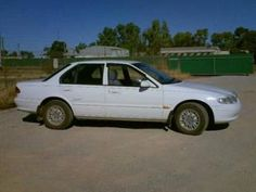 Make: Ford Model: Falcon Body Type: Sedan Year: 1997 Mileage (Km): 286000 Transmission: Automatic Air Conditioning: Yes Registered: Yes Registration Expiry: 06/07/2012 Fuel Type: Petrol - Unleaded Colour: White.    Price: $2400.00