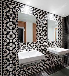 Tile Trends - Winckelmans Tiles Restaurant and Bar Design Award Winner for Coach House Hatfield, England.