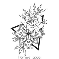 💜Flash disponible💜  Réservation par mail ➡️flashpommietattoo@gmail.com ⚠️Il mesure environ 20cm⚠️ #pommietattoo #octopusbodyartshop #tattoo #flowertattoo #fineline #blackandgrey #stigma #mandala #flower #flashtattoo #flashdispo #confinement #alamaison #athome #tattoist #tattooer #2020 #moodoftheday #inkstagram #auxerre #ruedeparis Tattoo Design Drawings, Mandala Tattoo Design, Art Drawings, Tattoo Designs, Tattoo Ideas, Unique Tattoos, Beautiful Tattoos, Small Tattoos, Arm Tattoo