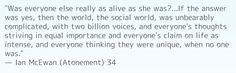 Atonement quote <3
