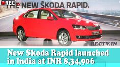 New Skoda Rapid launched in India at INR 834906 || Latest automobile news updates