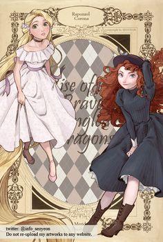 Annie and Emilinia