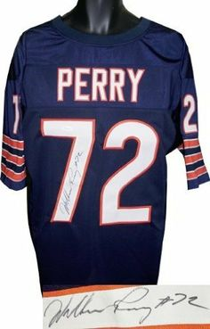 William Perry Autographed Hand Signed Chicago Bears Navy Prostyle Jersey-  JSA Hologram by Hall of Fame Memorabilia.  180.95. William Perry is best  known for ... 2a5e0d75f