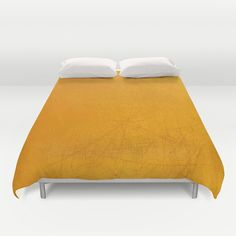 Yellow Area Duvet Cover