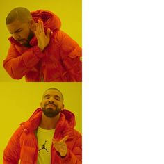 I made the Drake meme in High Definition boring to see it in lol Funny Reaction Pictures, Meme Pictures, New Memes, Dankest Memes, Meme Drake, Drake Hotline, Hotline Bling, Sapo Meme, Blank Memes