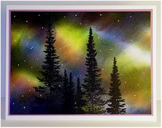 Aurora Borealis by tishttr1 - Cards and Paper Crafts at Splitcoaststampers