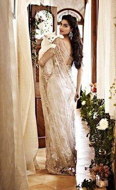 Indian Bollywood Bridal Saree