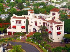 Castillo Serralles - Ponce, Puerto Rico - I've toured the castle and it is AMAZING! Must-see for anyone visiting Ponce.