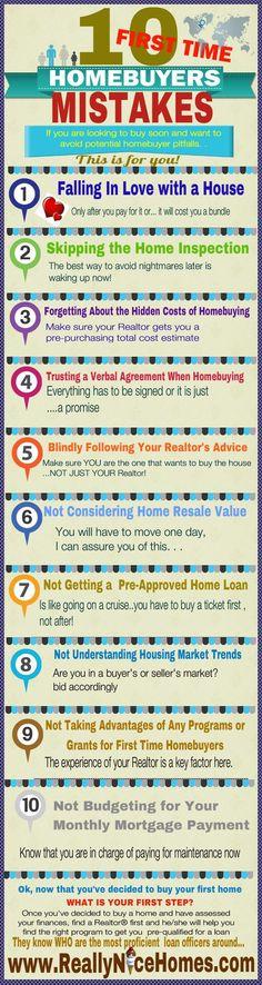 10 HUGE FIRST-TIME HOMEBUYER MISTAKES TO AVOID. www.findinghomesinlasvegas.com. Keller Williams Las Vegas & Henderson, NV.