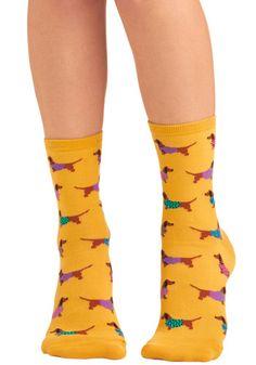 Wiener dog socks!!!