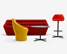 EZY furniture collection by christophe pillet for offecct