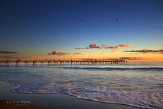 Glenelg Beach, Adelaide, South Australia - Photo By Kelvin Wong Adelaide South Australia, Australia Beach, Australia Living, Adelaide Sa, Beach Trip, Beautiful Beaches, Beautiful World, Airplane View, Places To See