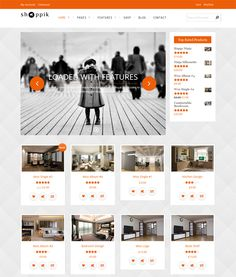 This interior design and furniture WordPress theme has a responsive layout, a shortcode generator, WooCommerce support, unlimited colors, a clean design, multiple header options,  more than 250 Font Awesome icons, and more.