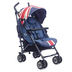 Carrinho para Bebê Mini Buggy Union Jack Vintage EMB10021 - Easywalker