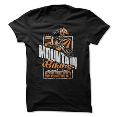 Mountain Biking - #tshirt illustration #sweatshirt embroidery. CHECK PRICE => https://www.sunfrog.com/Sports/Mountain-Biking-69141013-Guys.html?68278