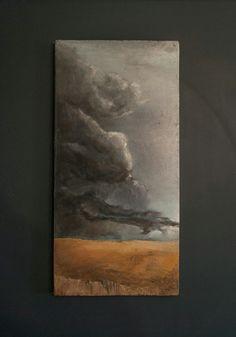 Oil on canvas  600x300 Yan Tikhonenko https://www.instagram.com/frank_therabbit/