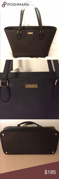 Kate Spade Laurel Way tote. ‼️NWT‼️ Very similar to the Cedar street medium tote. The inside is black fabric. The hardware is 14K gold plated with crosshatch leather, making this piece very durable. Zip bag closure. Interior pockets. This item didn't come to me w/ the dust bag. I'm contacting KS to see about getting a dust bag. See clearly moments for more info. kate spade Bags Totes
