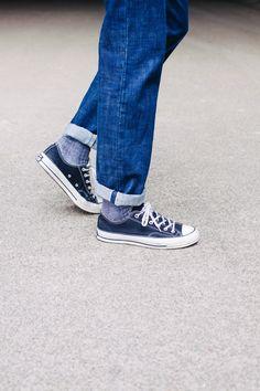 Universal Works Workshop Denim Indigo Slim Fit Jeans in Slub Selvedge Denim | Universal Works