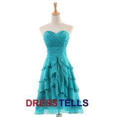 Fantastic Summer Short/Mini Dress/Blue by dresstells, $59.99