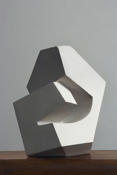 scandinaviancollectors:  André Bloc, sculpture ca.1960, plaster. / Galerie DownTown