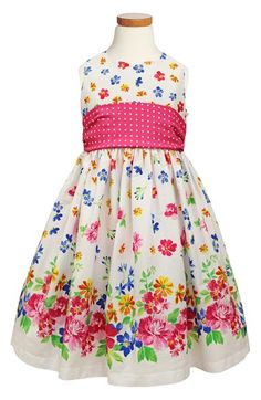 93f4ad8a37416 Gorgeous little flower girls dress, perfect for my blue and yellow colour  scheme.