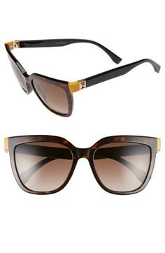 Fendi 54mm Sunglasses available at #Nordstrom