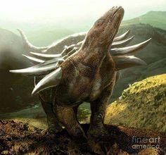 Panoplosaurus is a genus of nodosaurid dinosaur. living during the Late Cretaceous