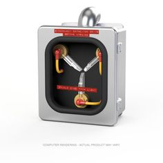 Mini Flux Capacitor Stainless Steel Edition.