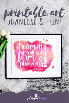 Gloria Steinem Quotes, Pink Home Offices, Art Quotes, Inspirational Quotes, Feminist Art, Dream Quotes, Home Office Decor, Dorm Decorations, Girl Boss
