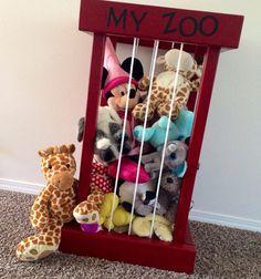 Mein Zoo: Hohes Tier Storage Cage / vor dem 1. November für
