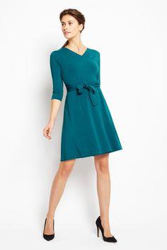 Of Mercer Teal Dress
