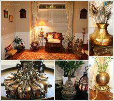Brass artifacts, brass collection, Brass Décor, Desi décor, Desi home, Dining room, Home Tour, Indian Inspired Decor, Indian Interiors, Indian traditional décor, living room decor, traditional Indian home, Indian home decor