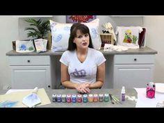 DecoArt® Ink Effects™: When to Use Ink Effects™ Basecoat