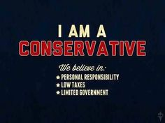 conservative!