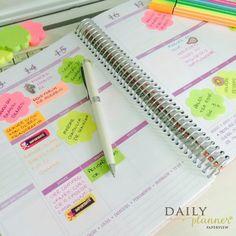 O Daily Planner da cliente @ceicafrota está lindo. Colorido e alegre como a vida deve ser…  Compre hoje o seu Daily Planner 2016 e Ganhe meses de 2015… http://www.paperview.com.br/planners/daily-planner-agenda.html