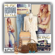 Music Festival Style by jgee67 on Polyvore featuring Topshop, Ancient Greek Sandals, Yves Saint Laurent, Charlotte Russe, rag & bone, Matthew Williamson, Free People, contestentry and musicfestivalstyle